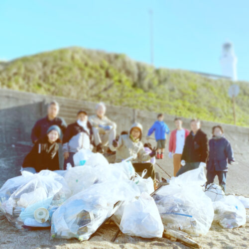 OMAEZAKI BEACH CLEANUP